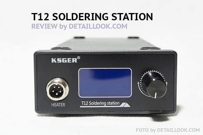 KSGER STM32 T12 Soldering station Паяльная станция T12