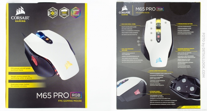 Corsair M65 PRO RGB обзор