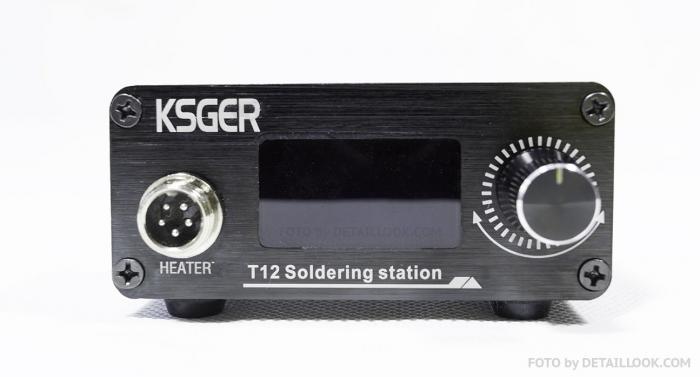 KSGER T12 OLED STM32 V3.0 Обзор паяльной станции на T12