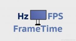 Hz FPS Frame time