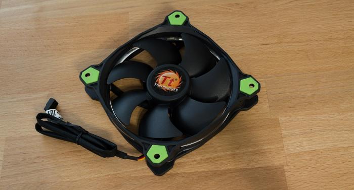 Вентилятор для ПК Thermaltake Riing 12: личный опыт использования