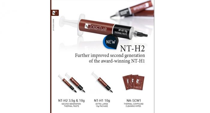 Представлена Noctua NT-H2