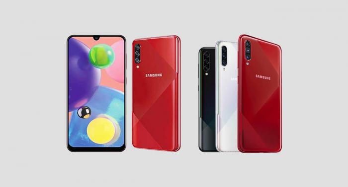 Samsung представила A70s