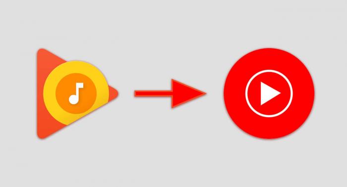 Google заменит Play Music на YouTube Music