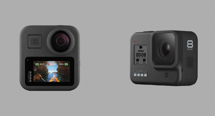Представлены GoPro Max и GoPro Hero 8 Black