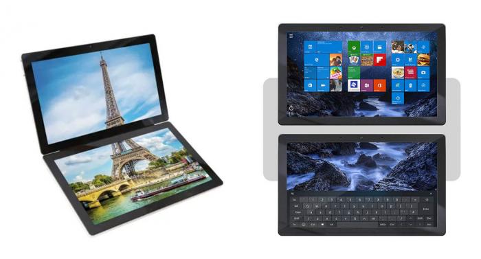 Ноутбук из планшетов - Gemeni