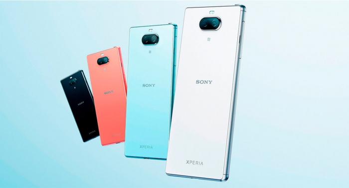 Компания Sony анонсировала смартфон Xperia 8