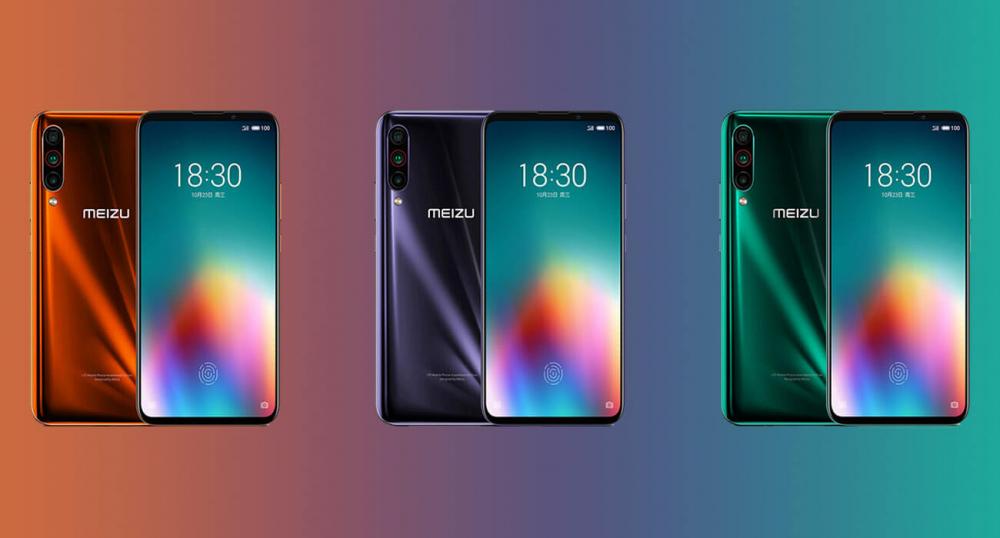 Компания Meizu представила новинку – смартфон Meizu 16T