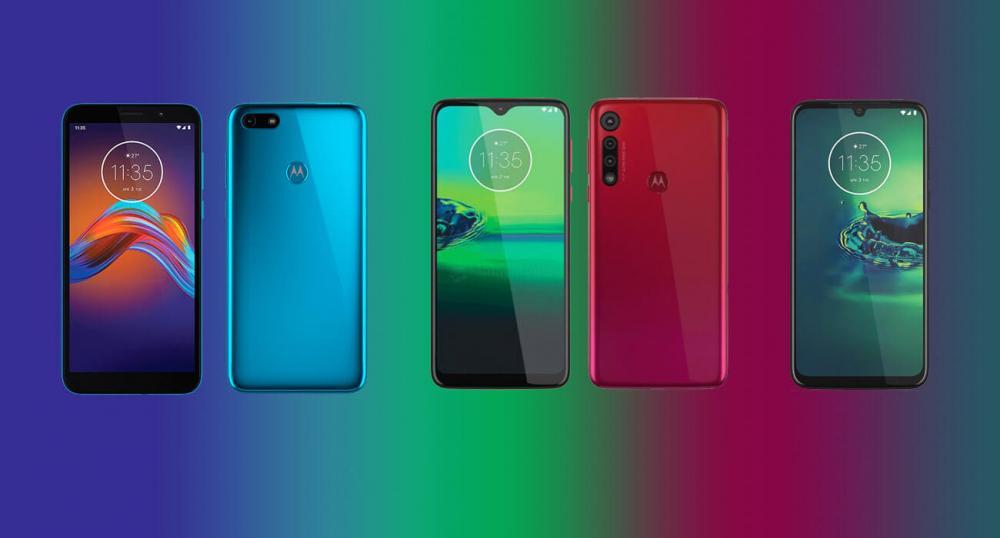 Новые смартфоны от Motorola
