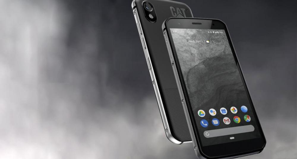 Представлен защищенный смартфон CAT S52