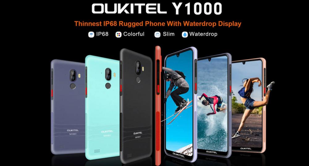 Защищенные, но тонкие смартфоны от Oukitel