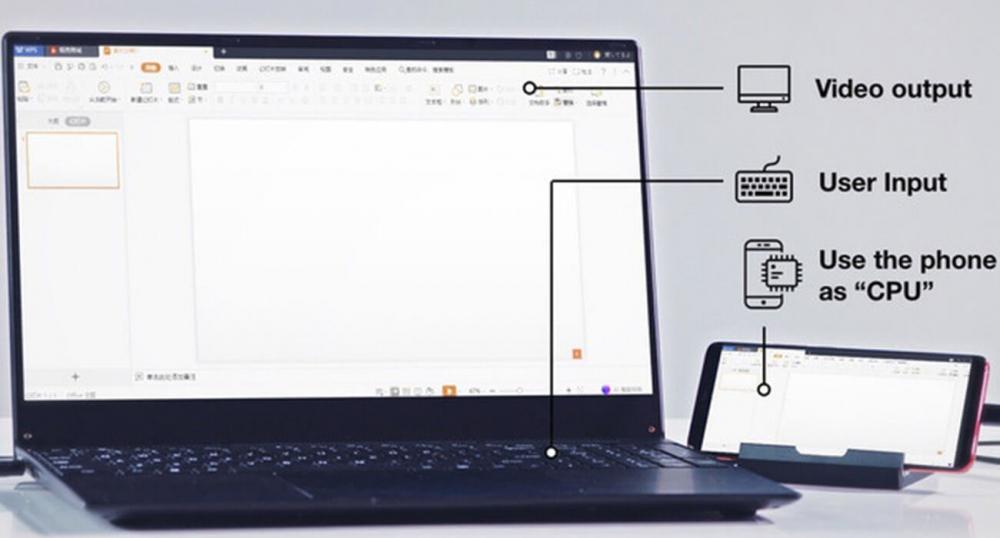 PhoneBook – устройство превращающее смартфон в ноутбук
