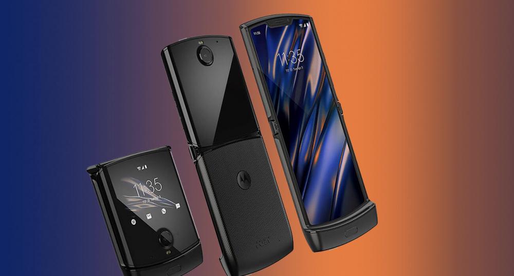 Анонсирована новая Motorola Razr с гибким дисплеем