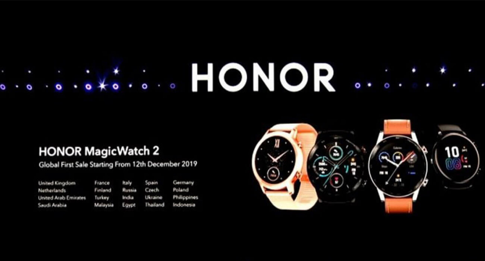 Huawei представила смарт-часы Honor Watch Magic 2