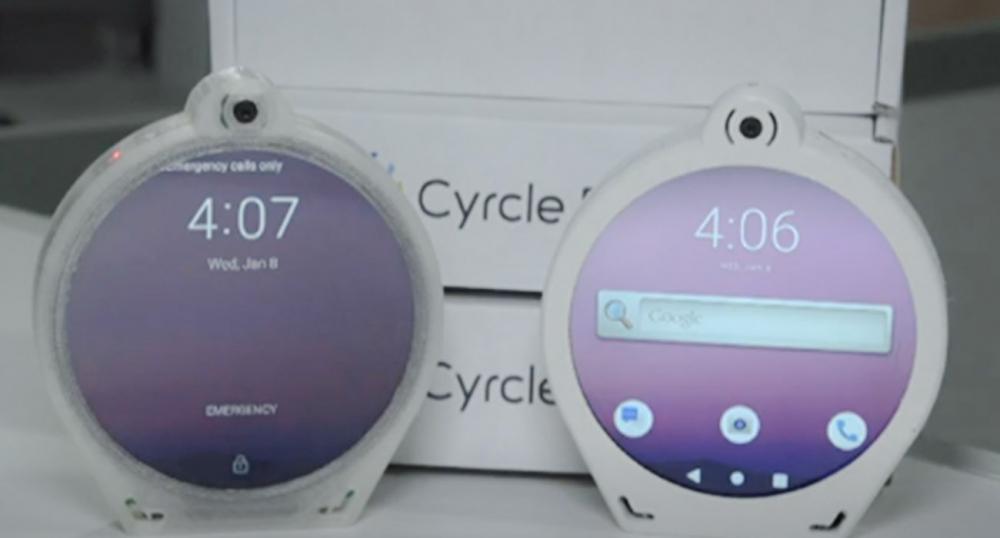 Новинка 2020! Cyrcle Phone — круглый смартфон