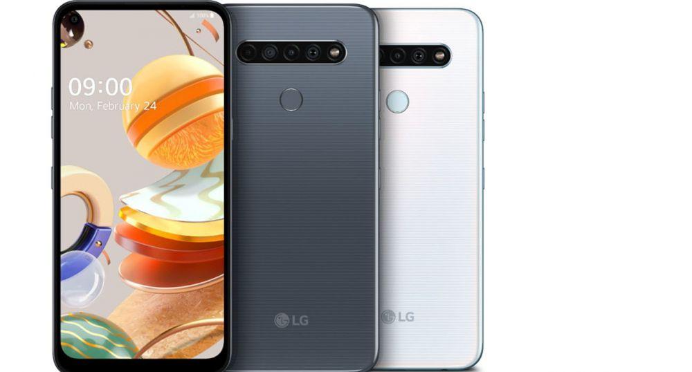 3 новые модели смартфонов от LG из серии K – K61, K51S и K41S