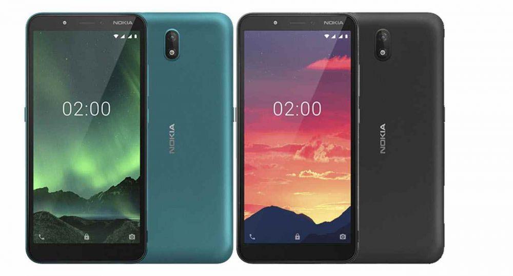 Представлен смартфон начального уровня Nokia C2