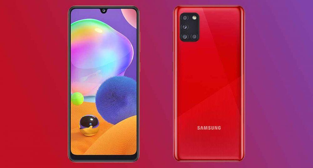 Samsung анонсировала Galaxy a31 – смартфон с 4-мя камерами