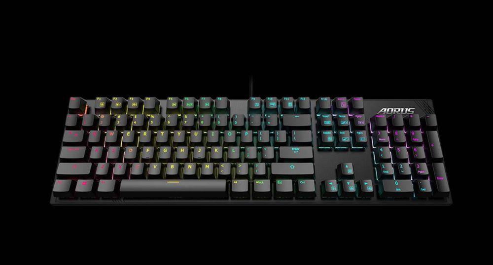 Анонсирована игровая клавиатура Gigabyte Aorus K1