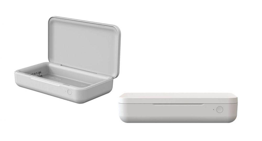 Samsung C&T создала УФ-стерилизатор с беспроводной зарядкой для смартфона