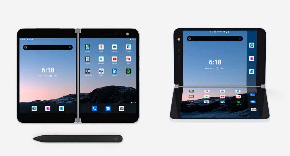Surface Duo - смартфон c двумя экранами на Android от Microsoft